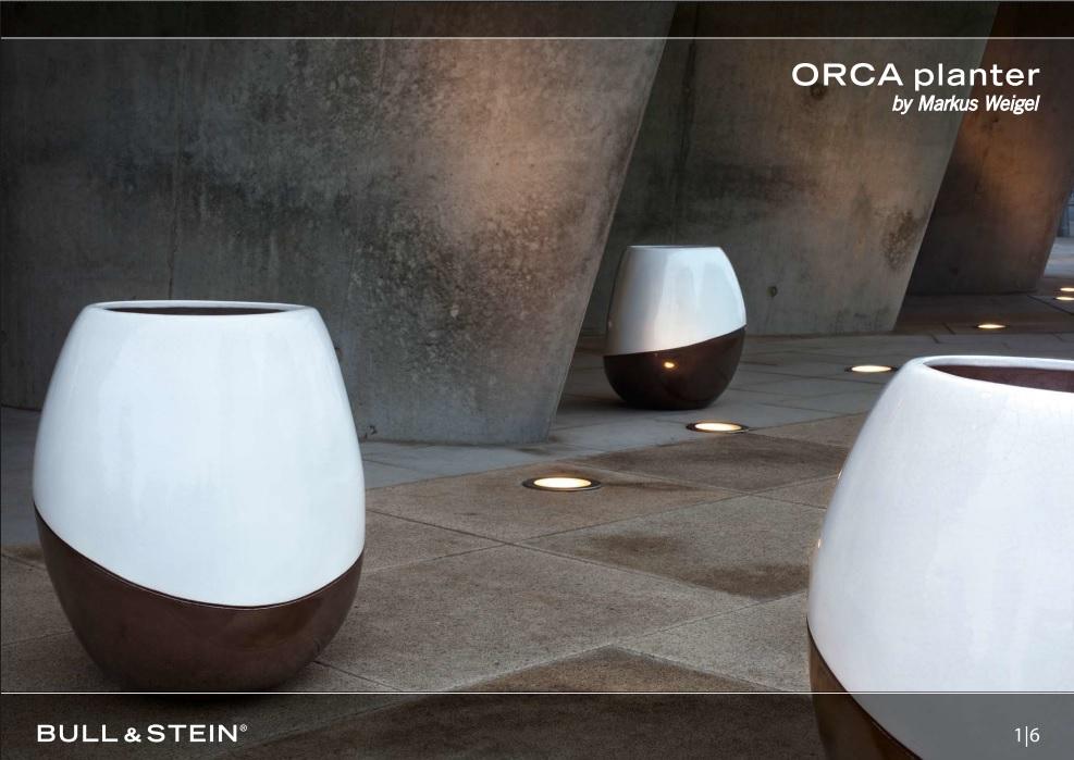 ORCA planter design edition